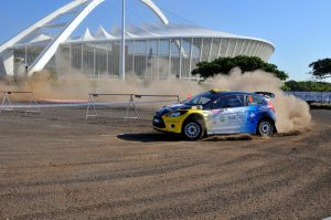 Jon Williams and Cobus Vrey Natal Rally 2012 1
