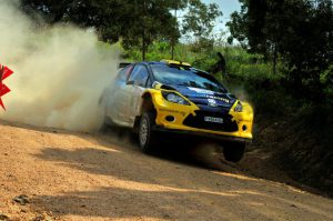 Jon Williams and Cobus Vrey Natal Rally 2012 11