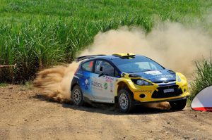 Jon Williams and Cobus Vrey Natal Rally 2012 13