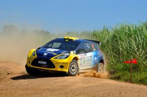 Jon Williams and Cobus Vrey Natal Rally 2012 2