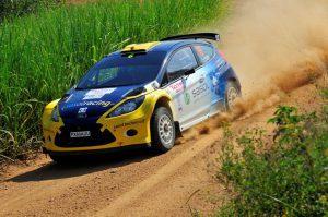 Jon Williams and Cobus Vrey Natal Rally 2012 3