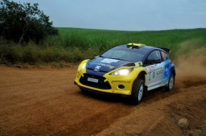 Jon Williams and Cobus Vrey Natal Rally 2012 6