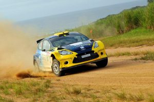Jon Williams and Cobus Vrey Natal Rally 2012 8