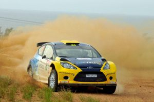 Mark Cronje and Robin Houghton Natal Rally 2012 11