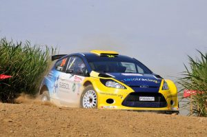 Mark Cronje and Robin Houghton Natal Rally 2012 3